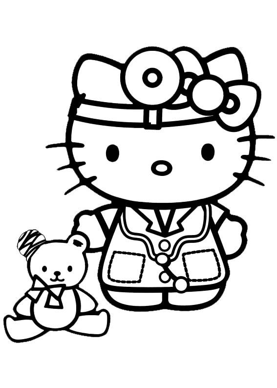 Hello kitty  mit Tiny Chum-6