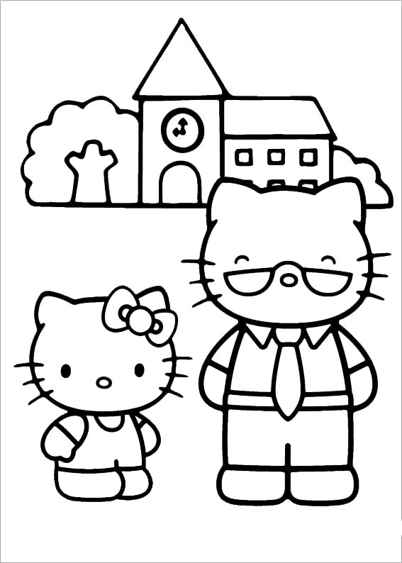 Hello kitty  mit familie-4