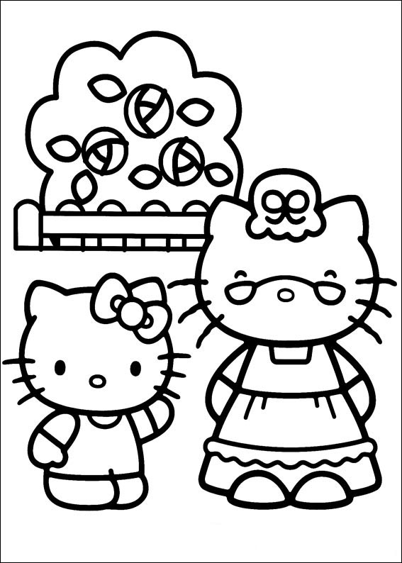 Hello kitty  mit familie-6