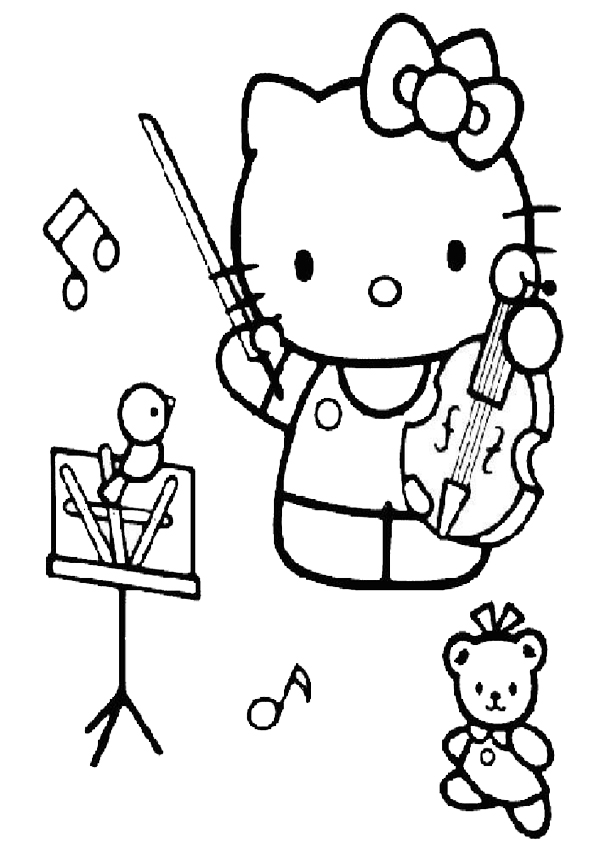 Hello kitty  mit tIny chum 4