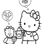 Hello kitty  mit tIny chum 5