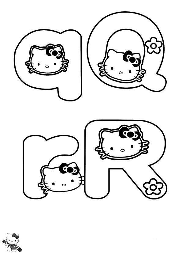 Malvorlagen-Ausmalbilder, hello kitty 54