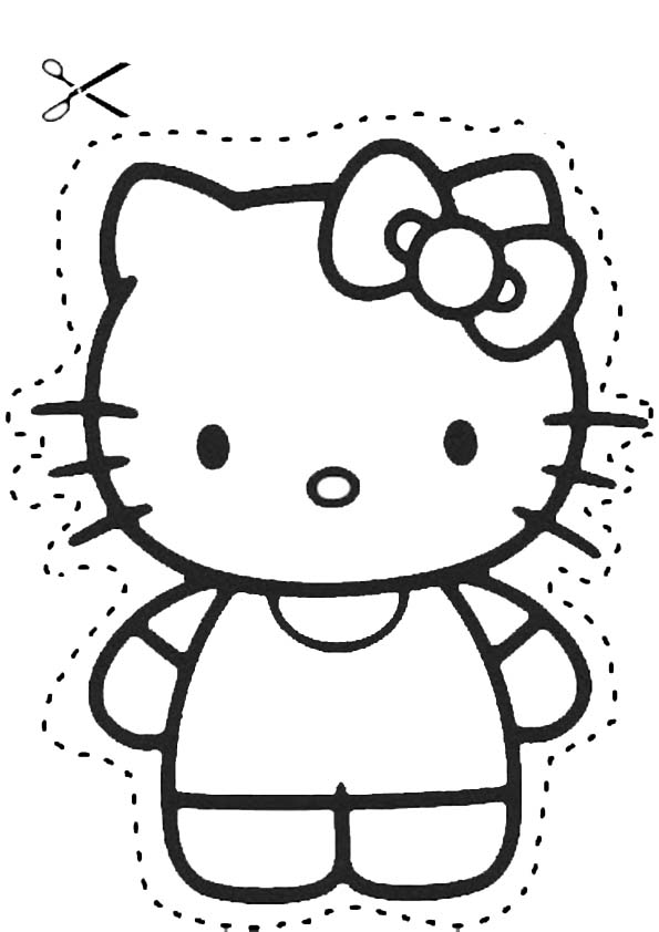 Malvorlagen Ausmalbilder hello kitty  Ausmalbilder Hello Kitty