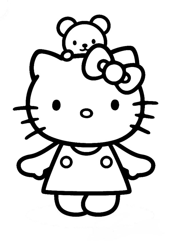 Malvorlagen-Ausmalbilder, Hello Kitty | Ausmalbilder Hello Kitty