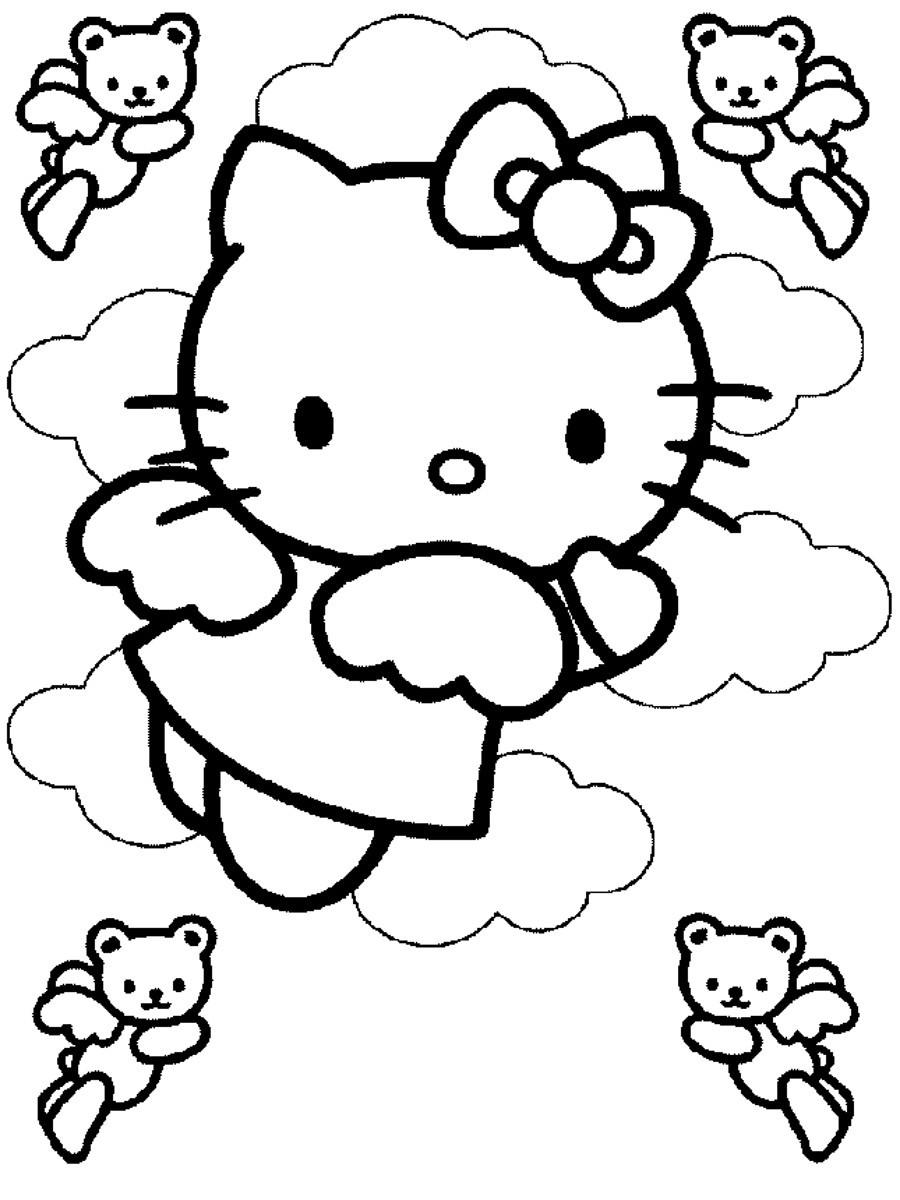 Ausmalbilder Zum Ausdrucken Hello Kitty : Malvorlagen Ausmalbilder Hello Kitty Ausmalbilder Hello Kitty