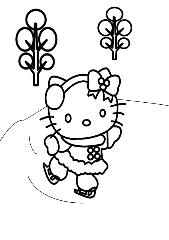 Ausmalbilder Hello Kitty-89