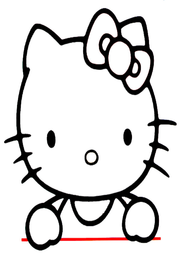 Ausmalbilder Hello Kitty-91