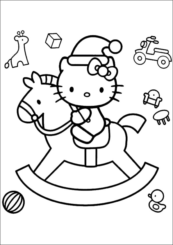 Malvorlagen Hello Kitty Mit Pferd | My blog
