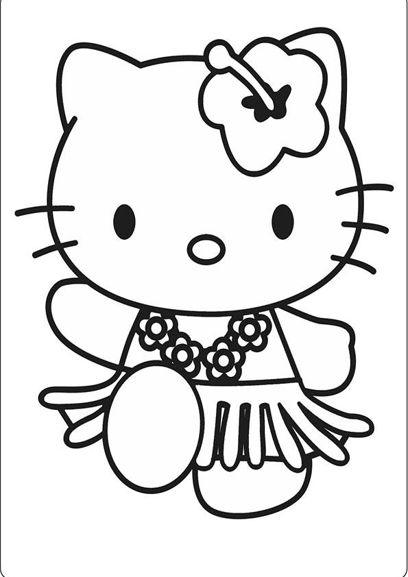 Ausmalbilder Hello kitty-75 | Ausmalbilder Hello Kitty