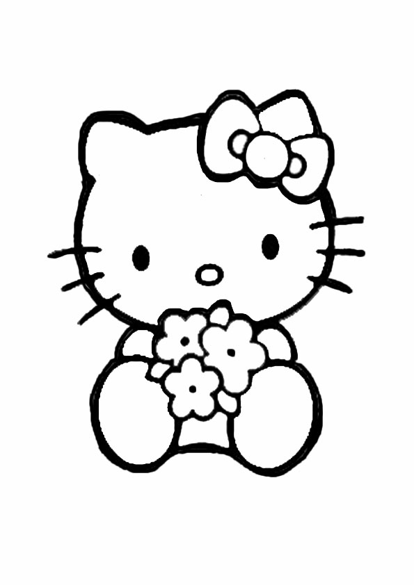 Ausmalbilder Hello kitty- 79