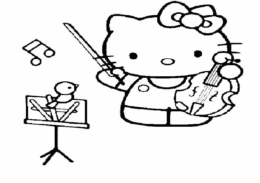 Ausmalbilder Hello kitty- 80 | Ausmalbilder Hello Kitty