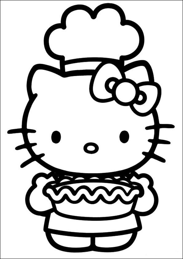 Ausmalbilder Hello kitty 86