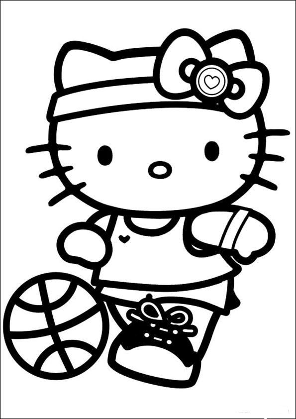 Ausmalbilder Hello kitty 87