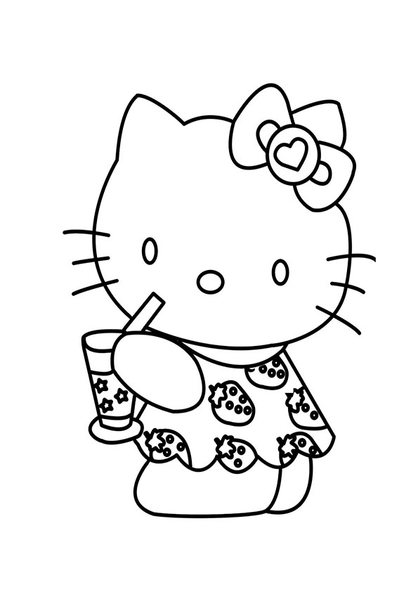 Ausmalbilder  Hello kitty  74