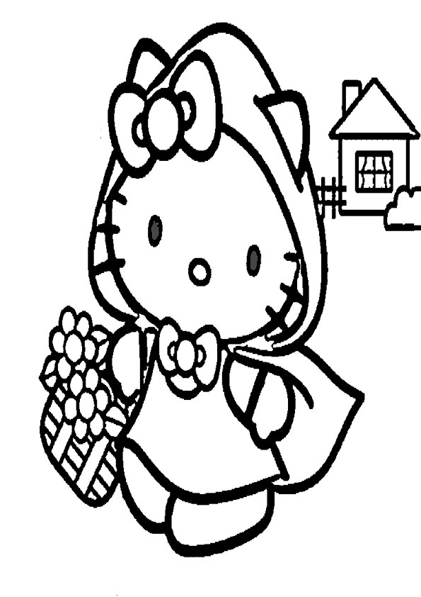 ausmalbilder hello kitty-119