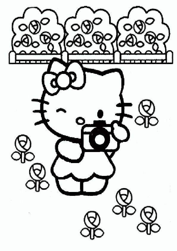 ausmalbilder hello kitty-128