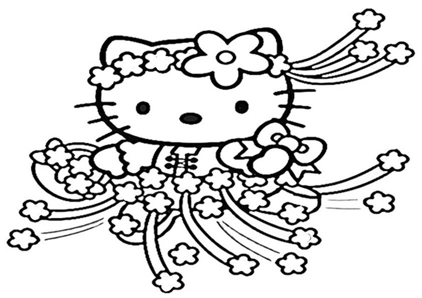 ausmalbilder hello kitty-131 | Ausmalbilder Hello Kitty