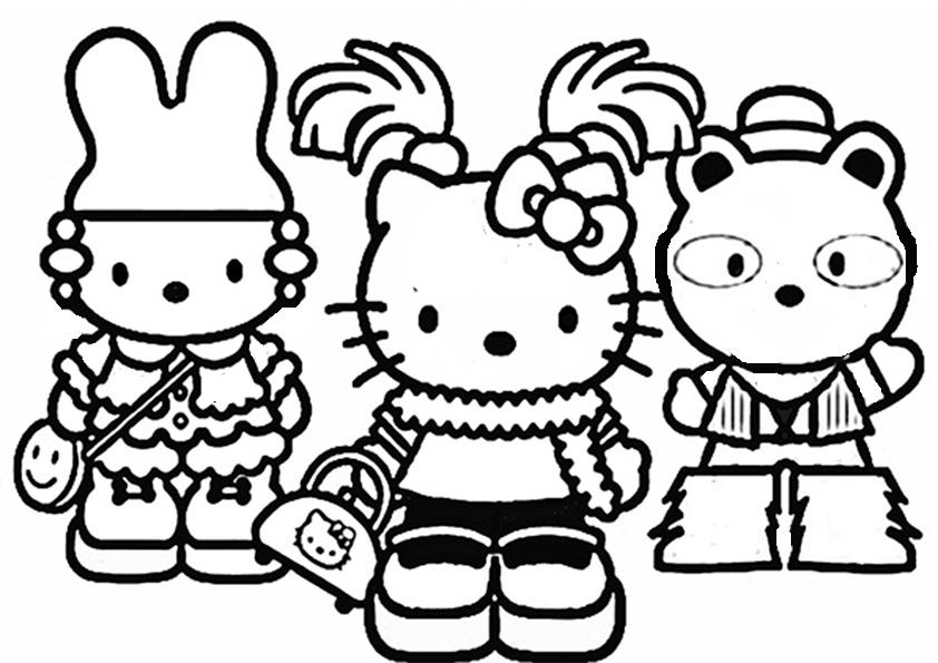 ausmalbilder hrllo kitty-132