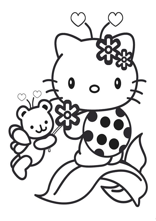 ausmalbilder hello kitty-133 | Ausmalbilder Hello Kitty