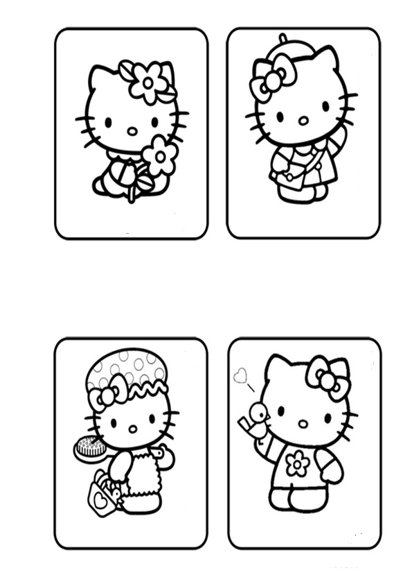 ausmalbilder hello kitty-134