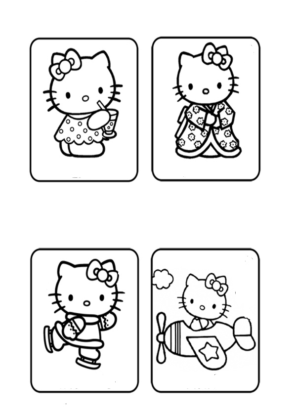ausmalbilder hello kitty-135