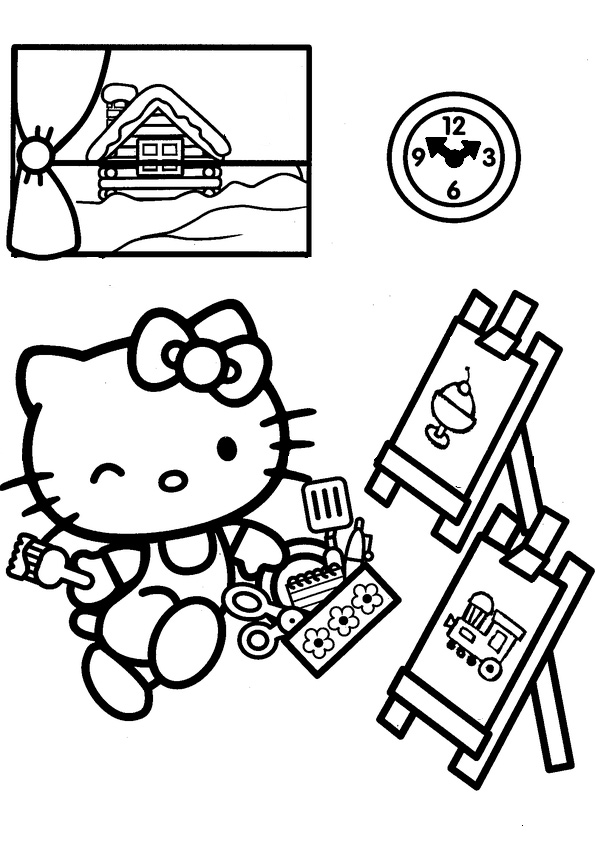 ausmalbilder hello kitty-142