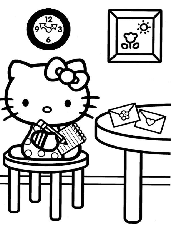 ausmalbilder hello kitty-143