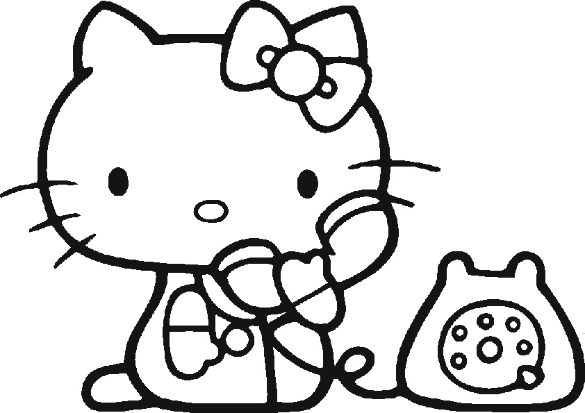 ausmalbilder hello kitty-144