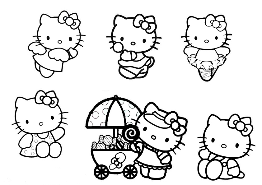 ausmalbilder hello kitty-145