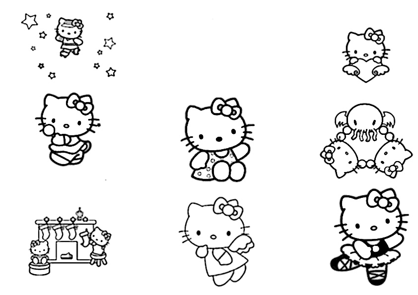 ausmalbilder hello kitty-146