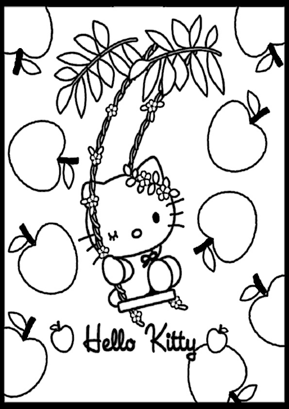 ausmalbilder hello kitty-151