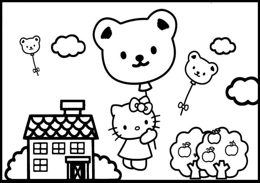 ausmalbilder hello kitty-154
