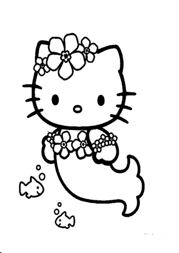 ausmalbilder hello kitty-155