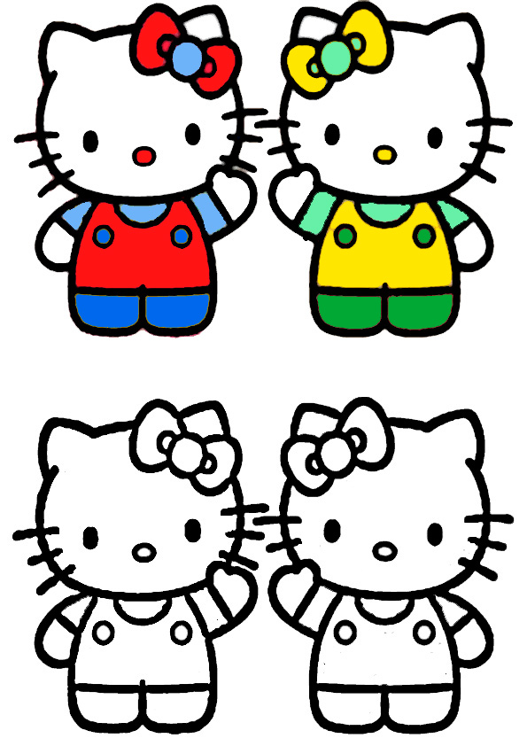 ausmalbilder hello kitty malen modell-5
