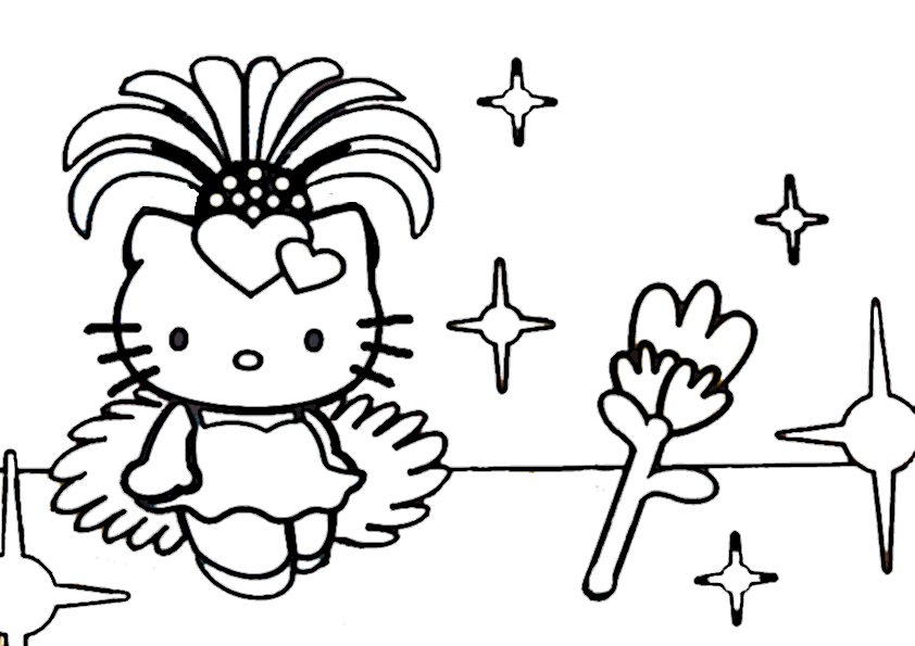 ausmalbilder hello kitty-159