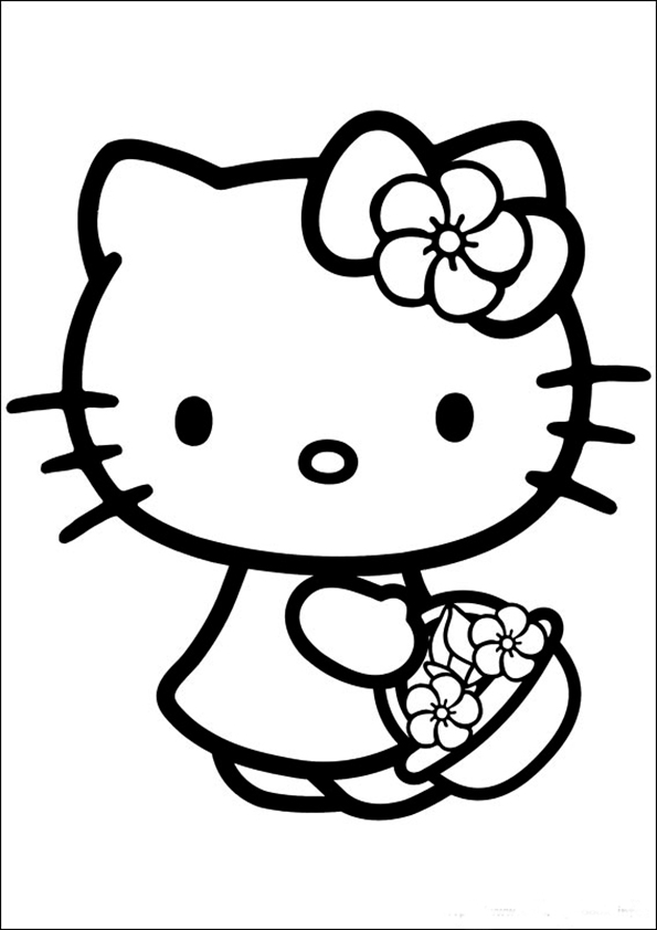 ausmalbilder hello kitty-163