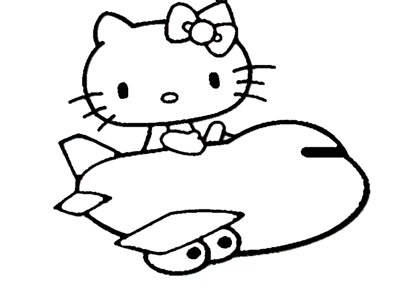 ausmalbilder  hello kitty-166