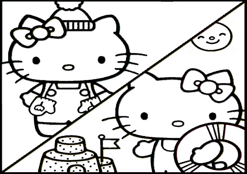 ausmalbilder  hello kitty-170
