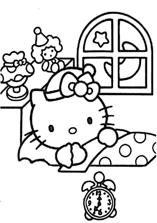 ausmalbilder  hello kitty-175