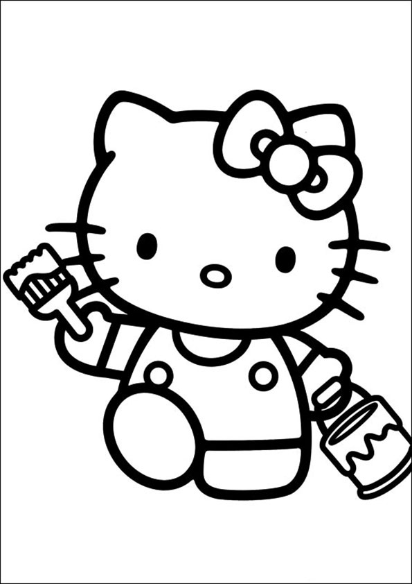 ausmalbilder  hello kitty-177