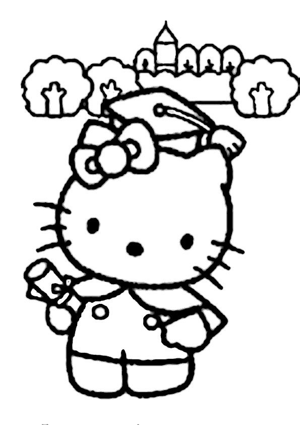 ausmalbilder hello kitty-189
