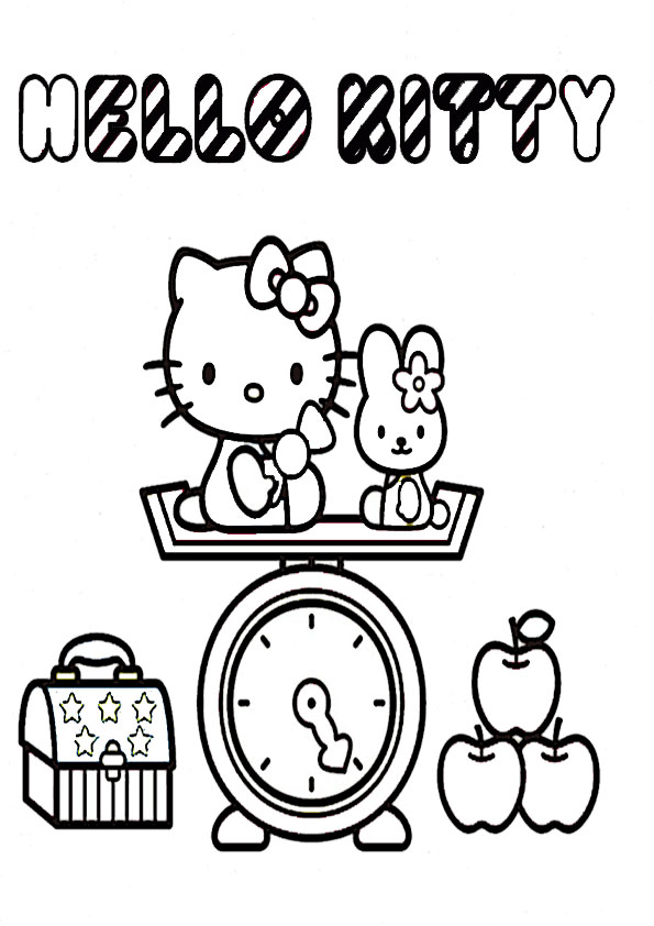 ausmalbilder  hello kitty-196