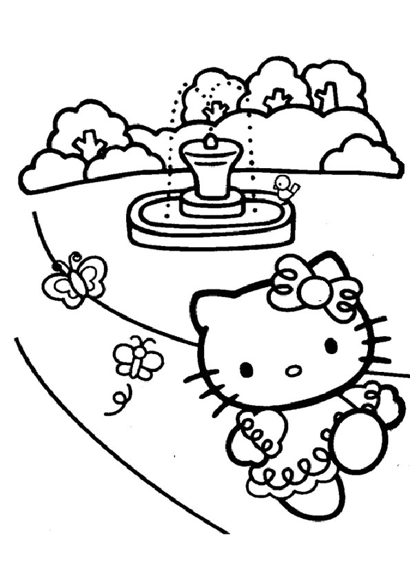 ausmalbilder hello kitty-198