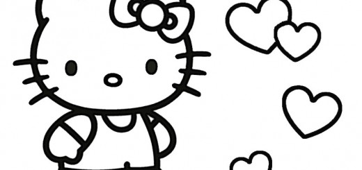 ausmalbilder hello kitty-201