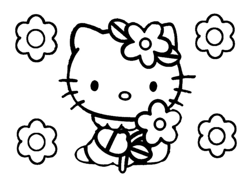 ausmalbilder hello kitty-206