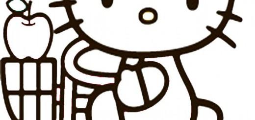 ausmalbilder hello kitty-221