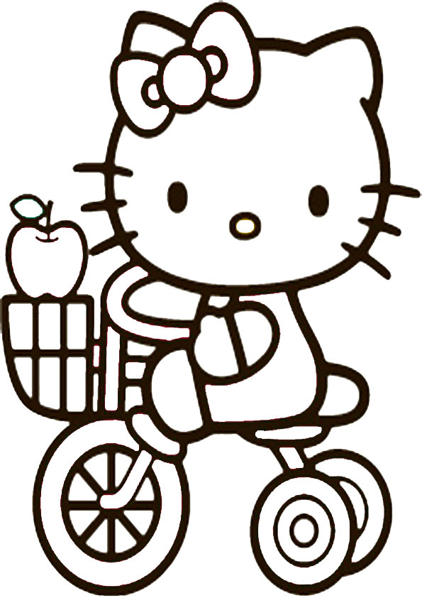ausmalbilder hello kitty-221