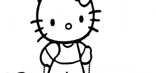ausmalbilder hello kitty-224