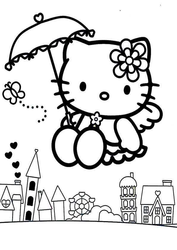 ausmalbilder hello kitty-225