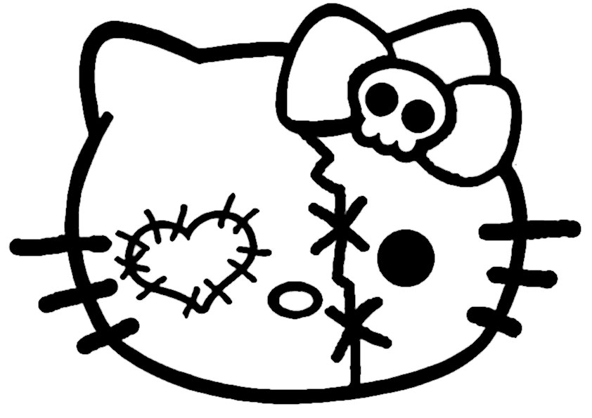 ausmalbilder hello kitty-228